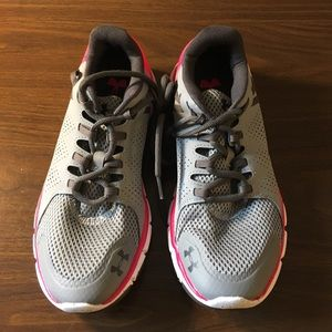Under Armour Womens Size 9 Micro G Gray Perfect